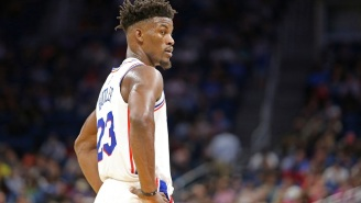 Jimmy Butler Gave Away Pairs Of Jordans To Almost Everyone On The Sixers Staff