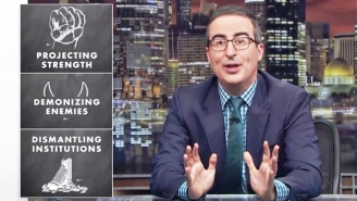 John Oliver Thinks We All Need To Be On High Alert To Fight The Rise Of Authoritarianism In Trump's America