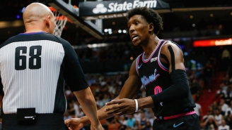 Josh Richardson Got Ejected For Throwing His Shoe Into The Crowd