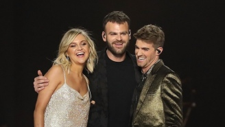 The Chainsmokers And Kelsea Ballerini Ride Dirtbikes In Their Dramatic 'This Feeling' Video