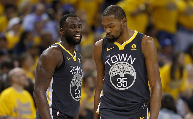 Draymond Green Used A Colorful Analogy To Explain His Feelings On Kevin Durant's Departure