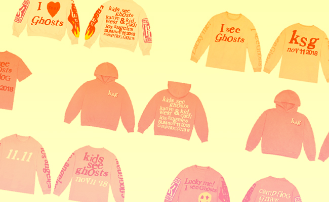Kids See Ghost' Merch From Camp Flog Gnaw 2018 Is Available Now