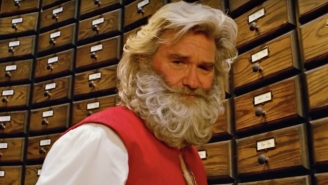 Kurt Russell's Santa Beard In 'The Christmas Chronicles' Was Reportedly '80 Percent Real'