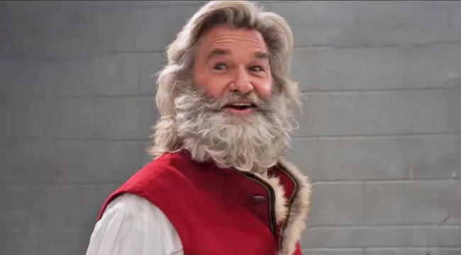 Kurt Russell's Rowdy Santa In 'The Christmas Chronicles ...