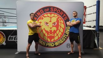 Shibataism And Fighting Spirit At The NJPW LA Dojo