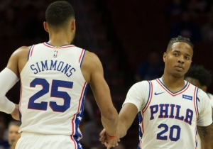 Brett Brown Says The Ben Simmons And Markelle Fultz Tandem Needs Better 'Shooting And Spacing'