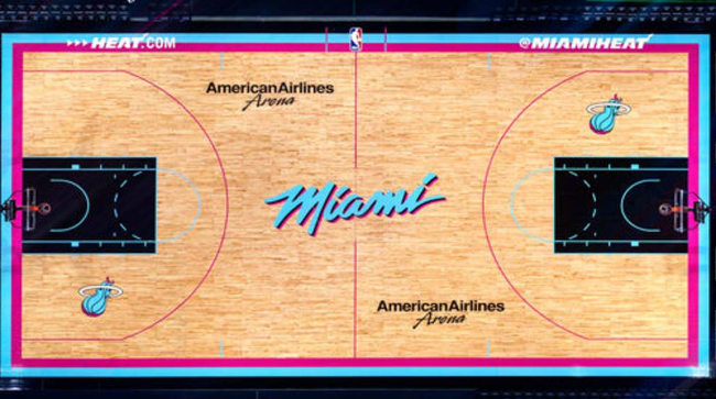 The Heat Will Play 14 Games On An Outstanding Vice Nights Court