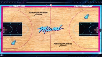 The Heat Will Play 14 Games This Season On An Outstanding 'Vice Nights' Court