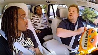 Migos' 'Carpool Karaoke' With James Corden Is A Hilarious, LA Adventure In Balling Out