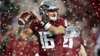 The Apple Cup Featured A Blizzard, So A Fox Sports Commentator Sang The Simpsons 'Mr. Plow' Song