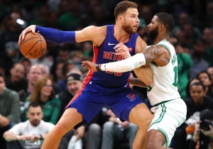 Blake Griffin Underwent Arthroscopic Surgery On His Troubled Knee