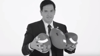 Marco Rubio Called Making A Field Goal 'Hits A 3 Pt Kick' In An Odd Electoral Analogy