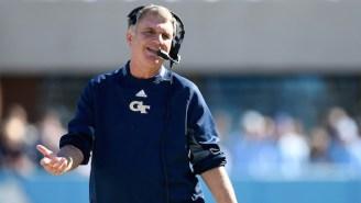 Georgia Tech Head Coach Paul Johnson Is Reportedly Retiring