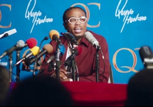 Quavo Literally Balls Out In His 'Space Jam'-Inspired 'How Bout That' Video