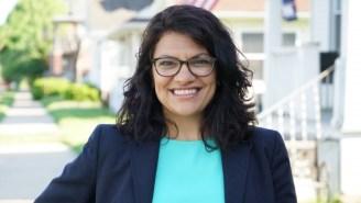 Michigan's Rashida Tlaib Has Become The First Muslim Woman Elected To Congress