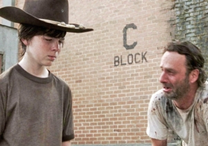 Here's Why Carl Wasn't In Rick's Final Episode Of 'The Walking Dead'