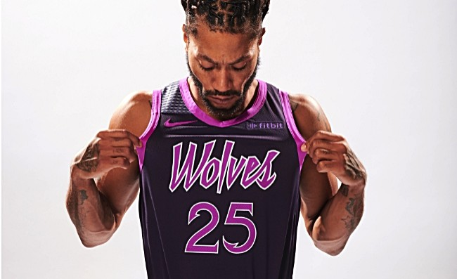 The Minnesota Timberwolves Unveiled Prince Themed Alternate Uniforms