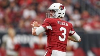 The Cardinals Traded 2018 First-Round Pick Josh Rosen To The Dolphins