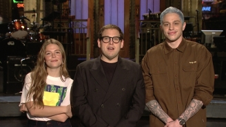 Watch Pete Davidson Propose To Musical Guest Maggie Rogers In The New 'SNL' Promo
