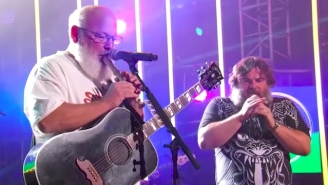 Tenacious D Brought Rock Opera Grandeur To Their Performance On 'Jimmy Kimmel Live'