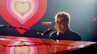This Touching Elton John Christmas Ad Celebrates His Generational Impact