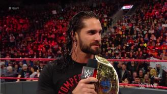 Seth Rollins Was Originally Meant To Lose His Intercontinental Championship To An Up-And-Coming Superstar