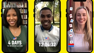 Snapchat Wants To Help You Find Your Polling Place