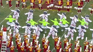 The Iowa State Band Had Astronauts And Aliens Dance To The 'Space Jam' Theme