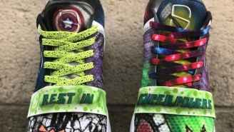 Spencer Dinwiddie's Superhero Sneakers Paid Tribute To Legendary Comic Creator Stan Lee