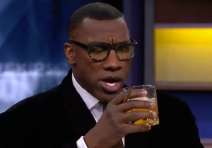 Shannon Sharpe Celebrated His 'Best Life' By Drinking Hennessy On 'Undisputed'
