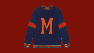 You Can Now Personalize Your Own Gucci Sweater, And They're Pretty Fly
