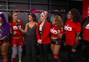 Sasha Banks And Bayley Were Last-Minute Additions To The Raw Women's Survivor Series Team