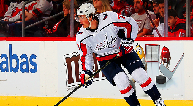huge selection of b7400 44254 T.J. Oshie Explained Where He Learned To Chug Beer Through ...