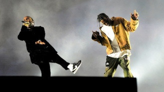 Watch Travis Scott Bring Out Kendrick Lamar In New York To Perform 'Goosebumps'