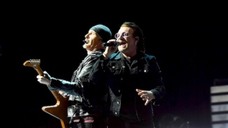 Bono Says That U2 Is 'Going Away Now' At Their Tour-Closing Show