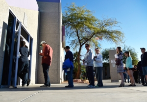 People Are Sharing Voter Turnout Pictures And Long Polling Lines On Social Media