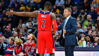 The Wizards Reportedly Fined John Wall For Saying 'F*ck You' To Scott Brooks