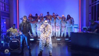 Lil Wayne's 'Uproar' Performance On 'SNL' Came Complete With Both Swizz Beatz And A Choir