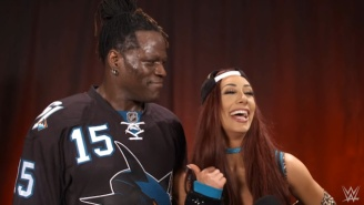 Carmella Opened Up About Working With R-Truth