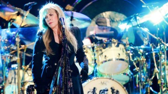 Stevie Nicks Is The First Woman To Be Inducted Into The Rock And Roll Hall Of Fame Twice