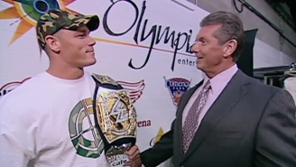 Vince McMahon Made A Rare House Show Appearance To Introduce John Cena