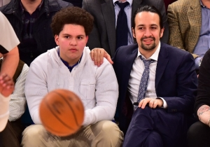 Lin-Manuel Miranda Lived Out Everyone's Childhood Dream And Purchased An 'NBA Jam' Arcade Machine