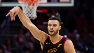 The Cavs Upset The Pacers On A Last-Second Tip-In By Larry Nance Jr.
