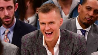 Kristaps Porzingis Seems Excited About Teaming Up With Luka Doncic In Dallas