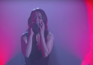 Mitski Brought Rock Show Catharsis To A Late Night Performance Of 'Nobody' And 'Two Slow Dancers'