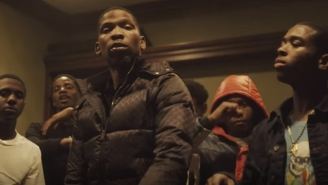 Memphis Rapper Blocboy JB Hits His Trademark Dance Moves In The Flashy 'Sticcs' Video