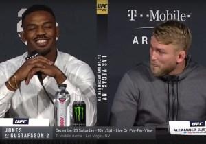 Alexander Gustafsson Said Jon Jones Is A Cheater Before Their UFC 232 Fight
