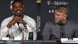 Alexander Gustafsson Said Jon Jones Is A Cheater Before Their UFC 232 Fight