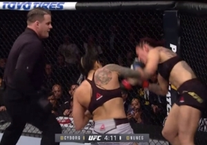 Amanda Nunes Stunned Cris Cyborg With A First-Round Knockout At UFC 232