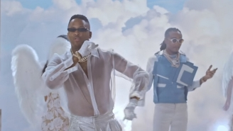 All Baddies Go To Heaven In YG And Quavo's Idyllic 'Slay' Video